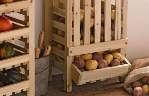 Как хранить картошку в квартире. Где лучше хранить картошку в квартире