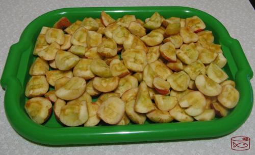 Как заморозить сырое яблочное пюре. Как замораживают яблочки
