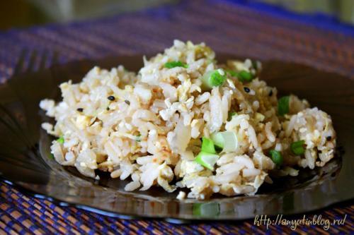 Тушеная пекинская капуста с рисом. Рис с пекинской капустой