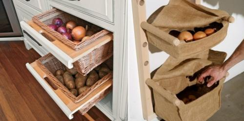 Хранение картофеля в домашних условиях в квартире. Как хранить картошку в квартире?