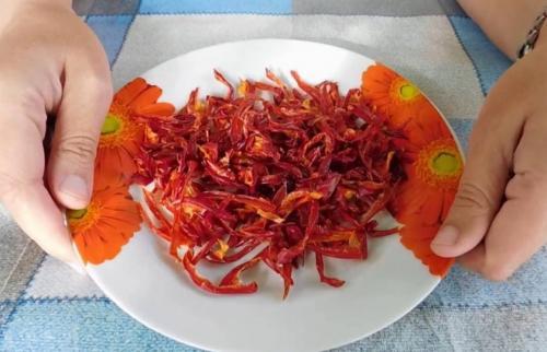 Болгарский перец сушеный на зиму. Как сушить болгарский перец на зиму