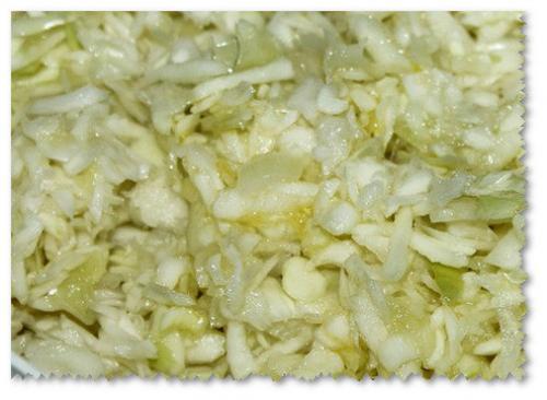 Рецепт квашеной капусты с яблоками. Медовая квашеная капуста с яблоками