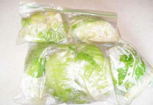Замороженная капуста белокочанная. Можно ли замораживать капусту в морозилке?