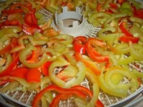 Сушка болгарского перца в домашних условиях. Основные правила