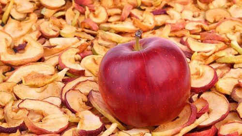 Как засушить яблоки в микроволновке
