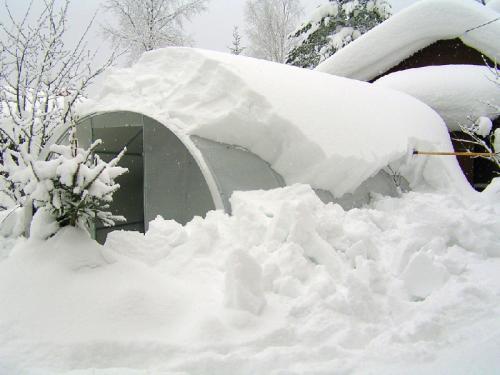 Уход за теплицей из поликарбоната зимой. Зимний уход за теплицей