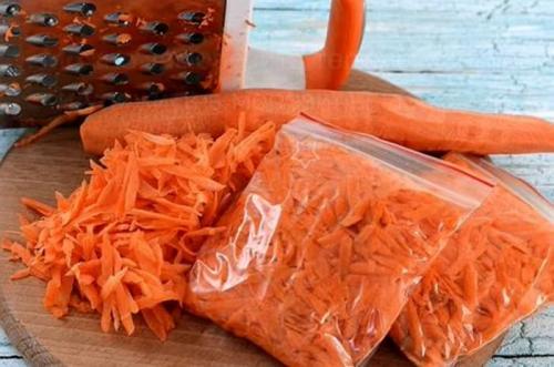 Можно ли заморозить вареную морковь. Если что-то пошло не так?